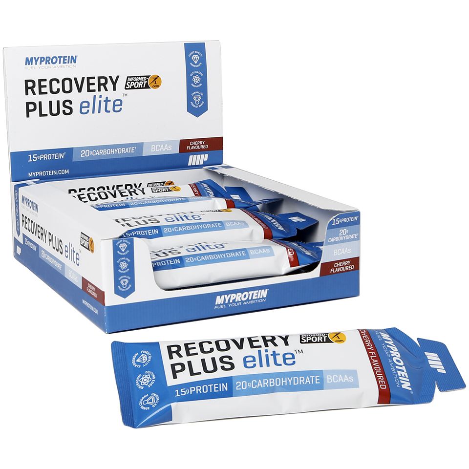Myprotein Recovery Plus Elite, 70ml, Cherry (Sample)
