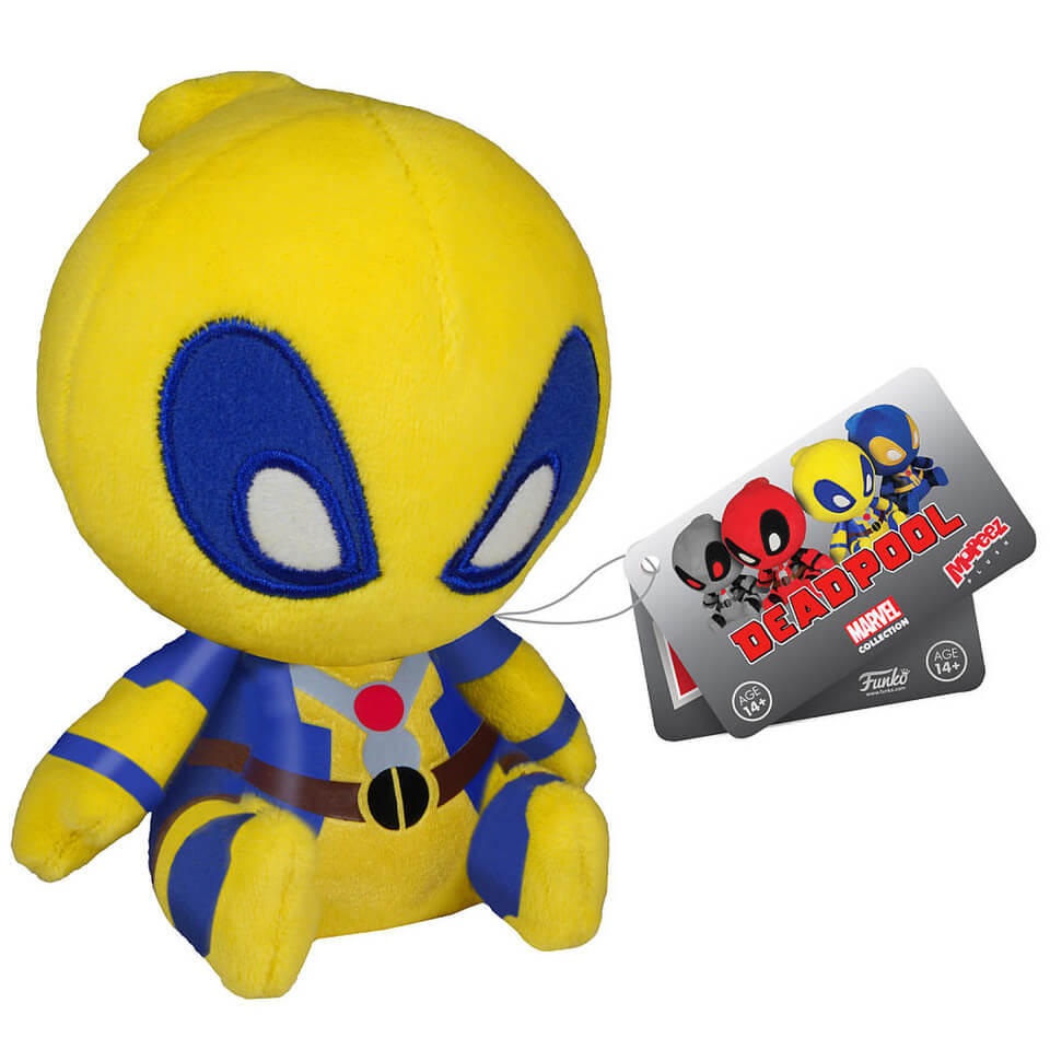 Mopeez Marvel Yellow Deadpool Figure
