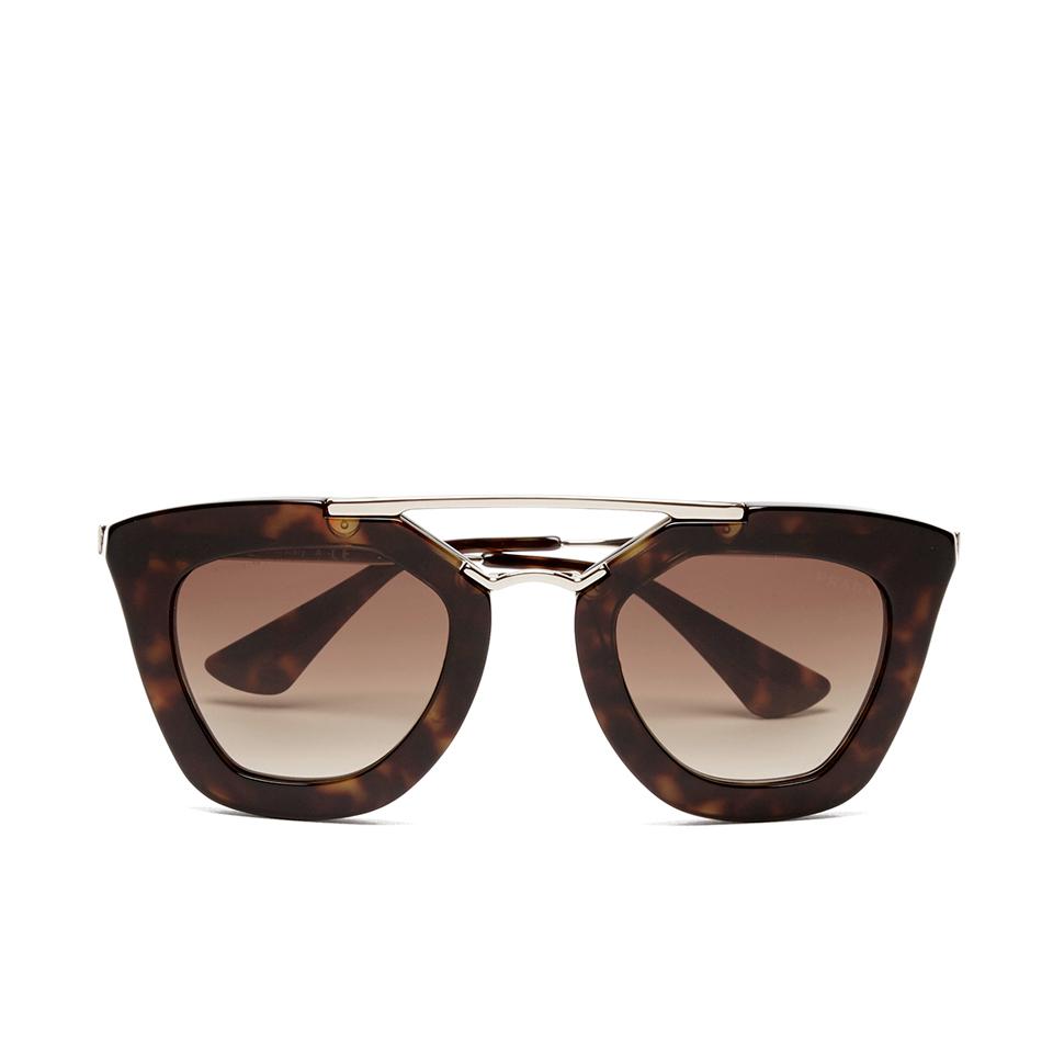37d7c3d6b394 Prada Women s Catwalk Cinema Sunglasses - Havana - Free UK Delivery over £50