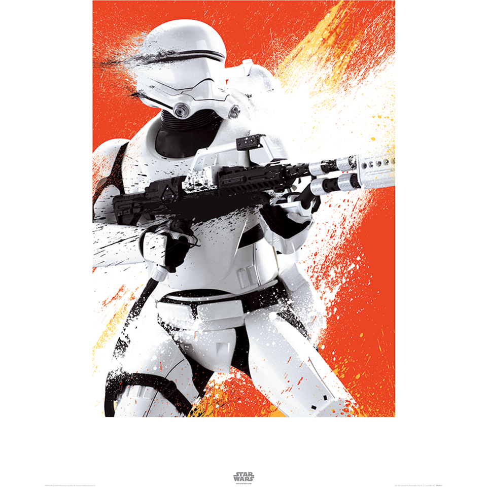 Affiche Flametrooper Star Wars : Le Réveil de la Force - 60 x 80 cm