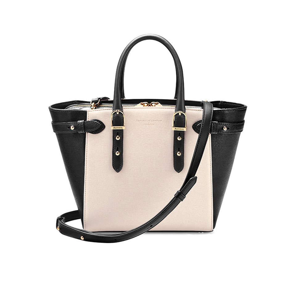 c6617616bc5ac Aspinal of London Women s Marylebone Mini Tote Bag - Monochrome Womens  Accessories