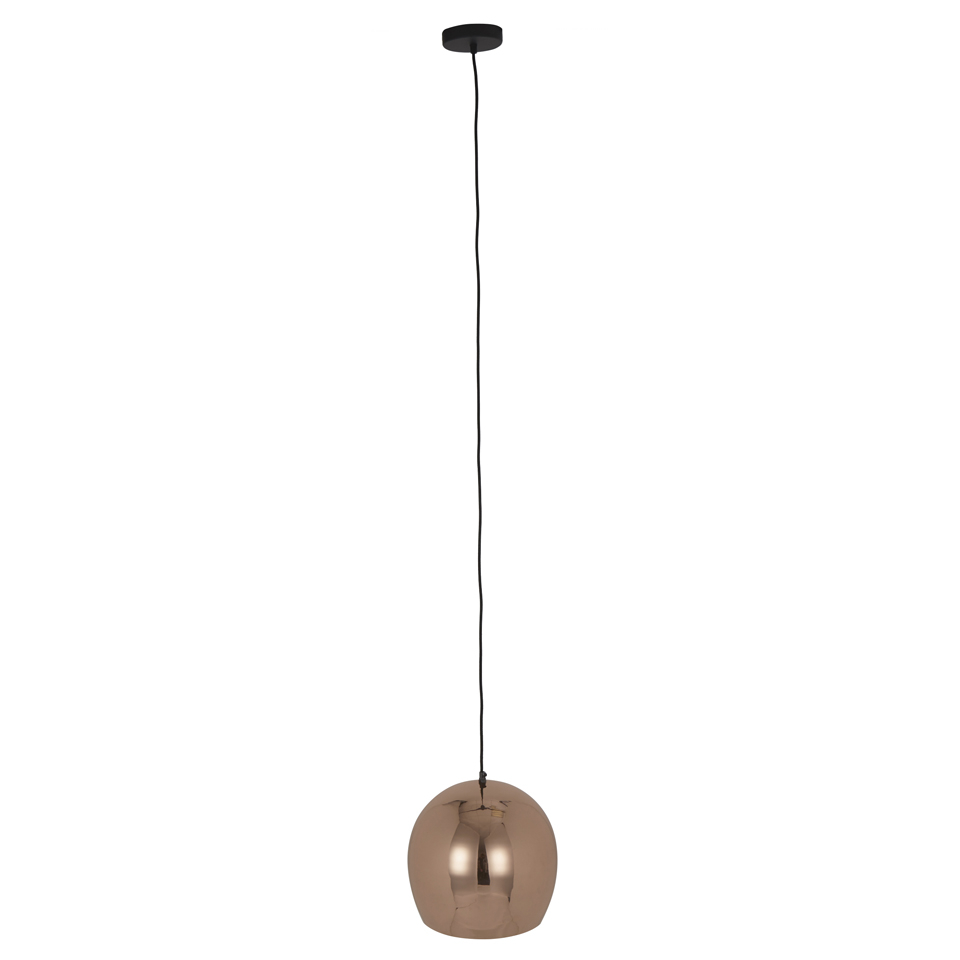 Bark & Blossom Copper Bowl Pendant Lamp