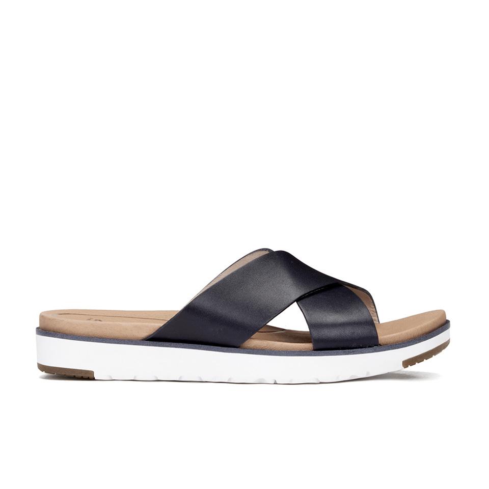 Wonderful Top-rated Women Slide Sandals | FitFlop Slinky Rokkit Slide Sandals In Black | FitFlop Womens ...