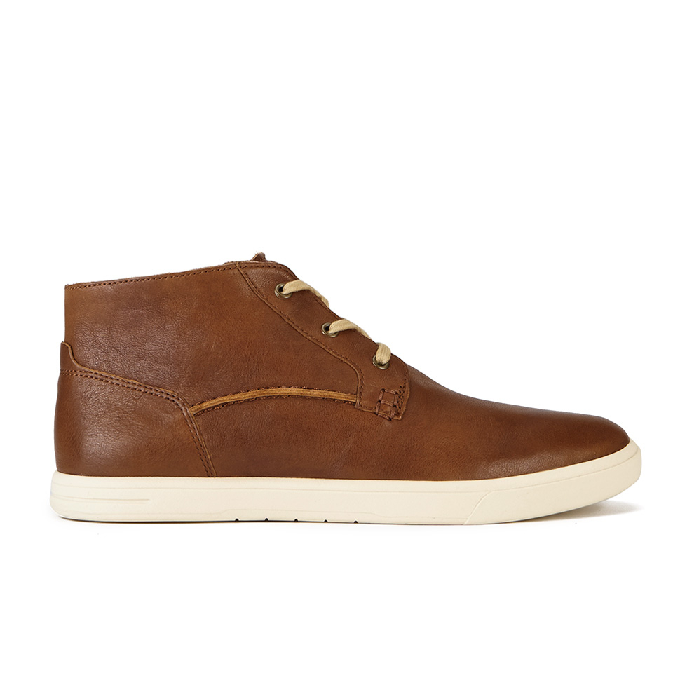 09ccc66337d UGG Men's Kramer Leather 3-Eyelet Chukka Boots - Chestnut