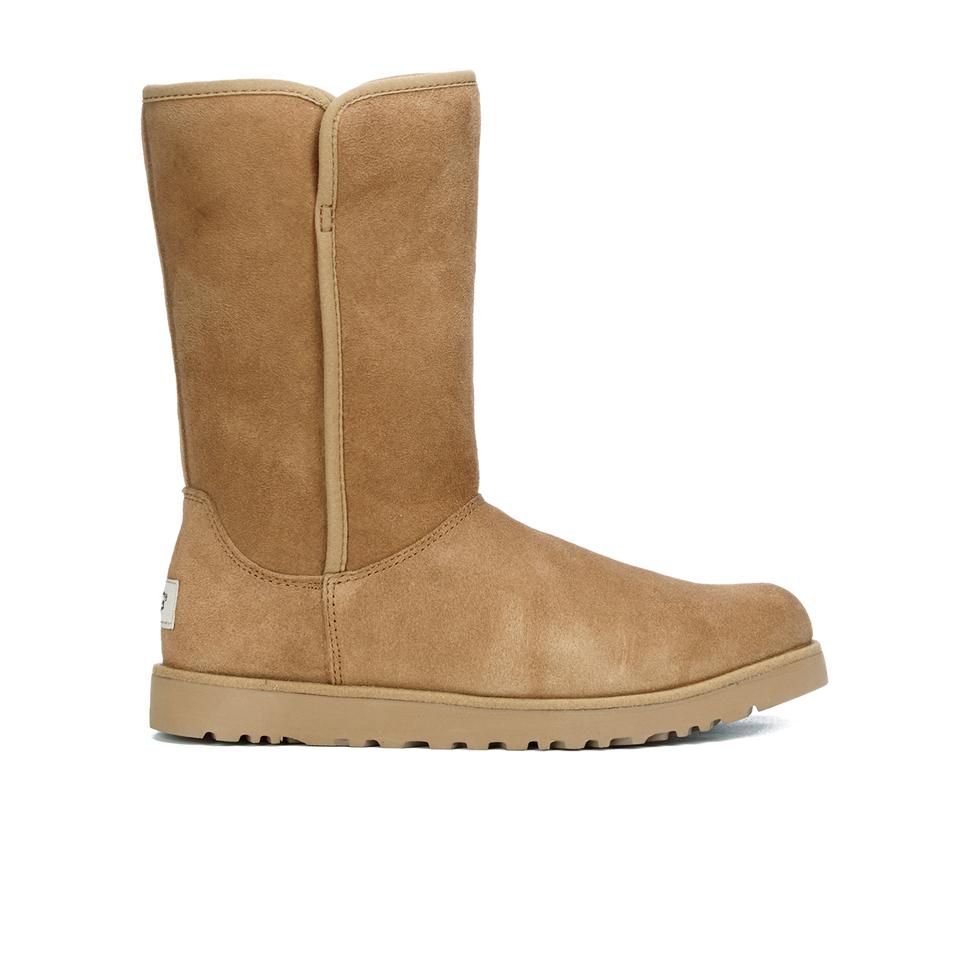 01780816552 UGG Women's Michelle Slim Short Sheepskin Boots - Chestnut