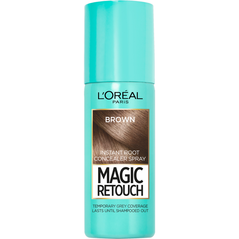 L Oréal Paris Magic Retouch Instant Root Concealer Spray Medium Brown 75ml