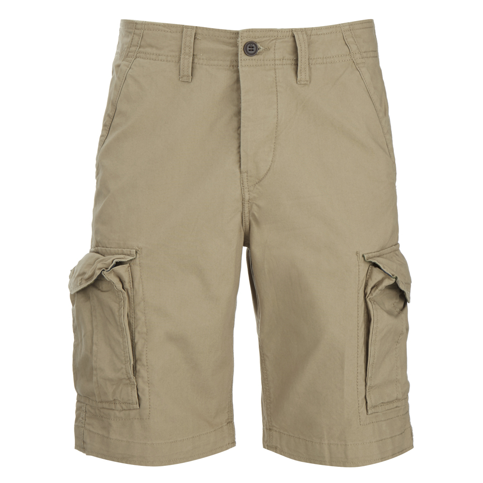 3de0f44e97380 Jack & Jones Men's Originals Preston Cargo Shorts - Chinchilla Womens  Clothing | Zavvi