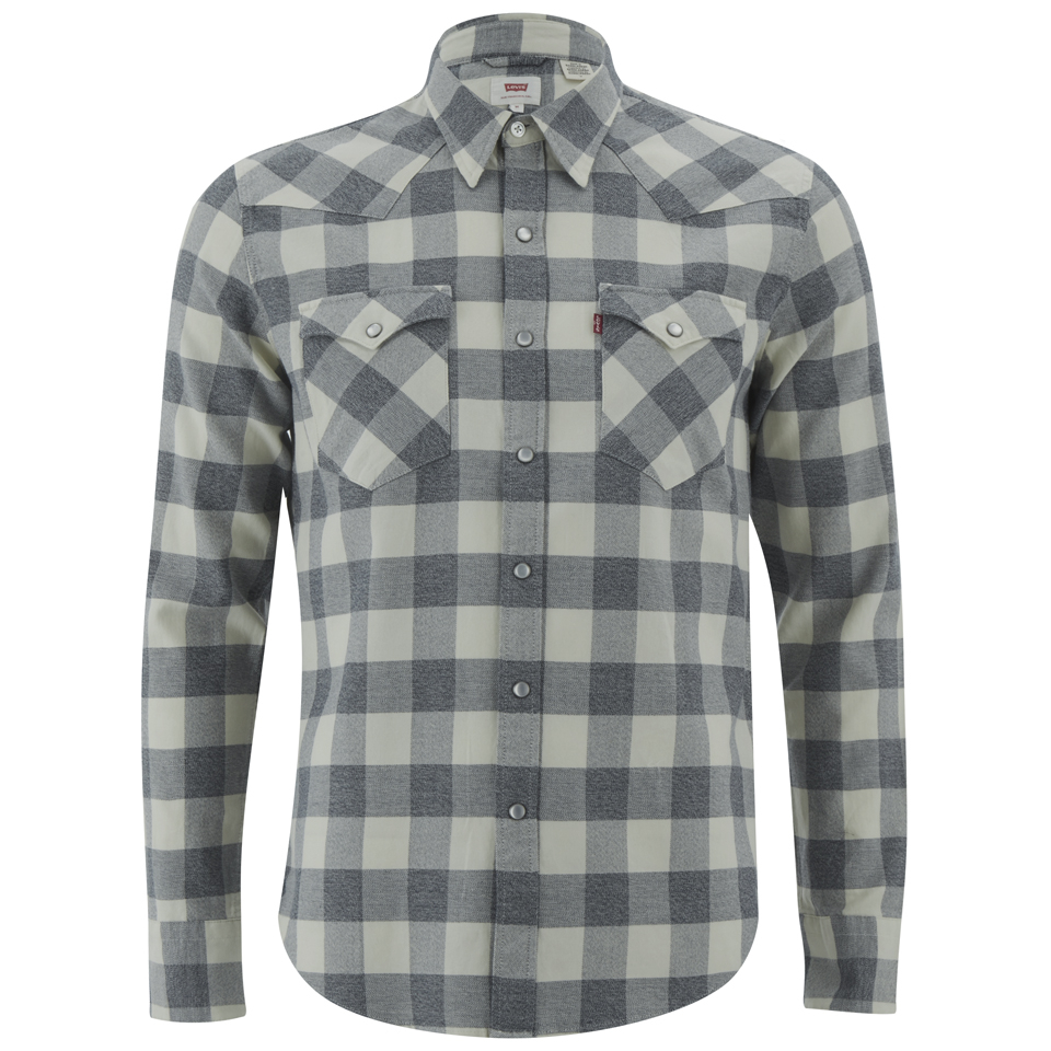 b477b57dcb Levi s Men s Barstow Western Shirt - Chalky White Mens Clothing ...