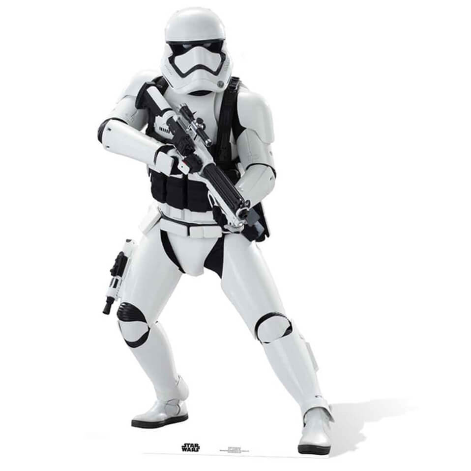 Star Wars The Force Awakens Stormtrooper Life Size Cut Out