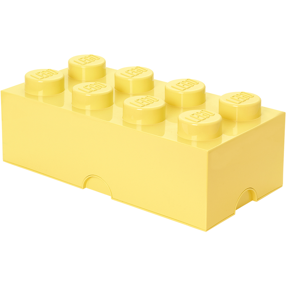LEGO Storage Brick 8 - Cool Yellow