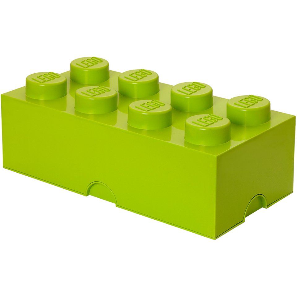 LEGO Storage Brick 8 - Light Green