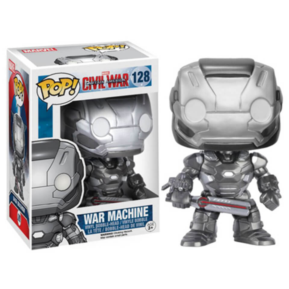 Marvel Captain America Civil War War Machine Pop! Vinyl Figure