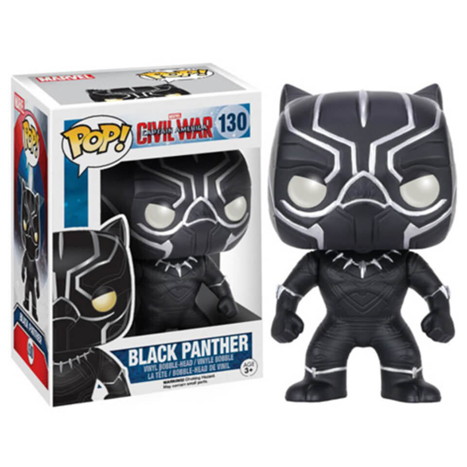 Marvel Captain America Civil War Black Panther Pop! Vinyl Figure