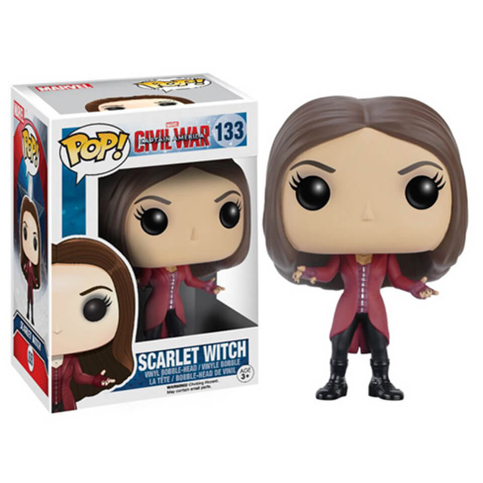 Marvel Captain America Civil War Scarlet Witch Pop! Vinyl Figure