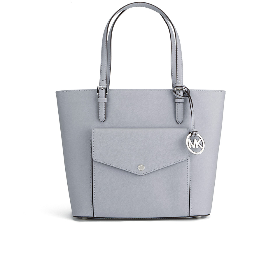 afe3d4eb4 MICHAEL MICHAEL KORS Women's Jet Set Large Pocket Tote Bag - Dove - Free UK  Delivery over £50
