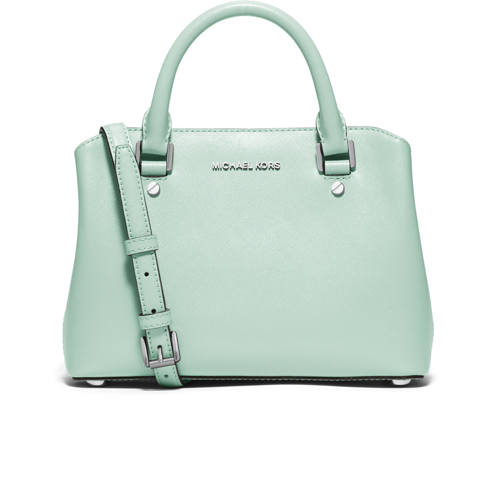 f2922e3cfc1f MICHAEL MICHAEL KORS Women s Savannah Small Satchel Bag - Celadon - Free UK  Delivery over £50