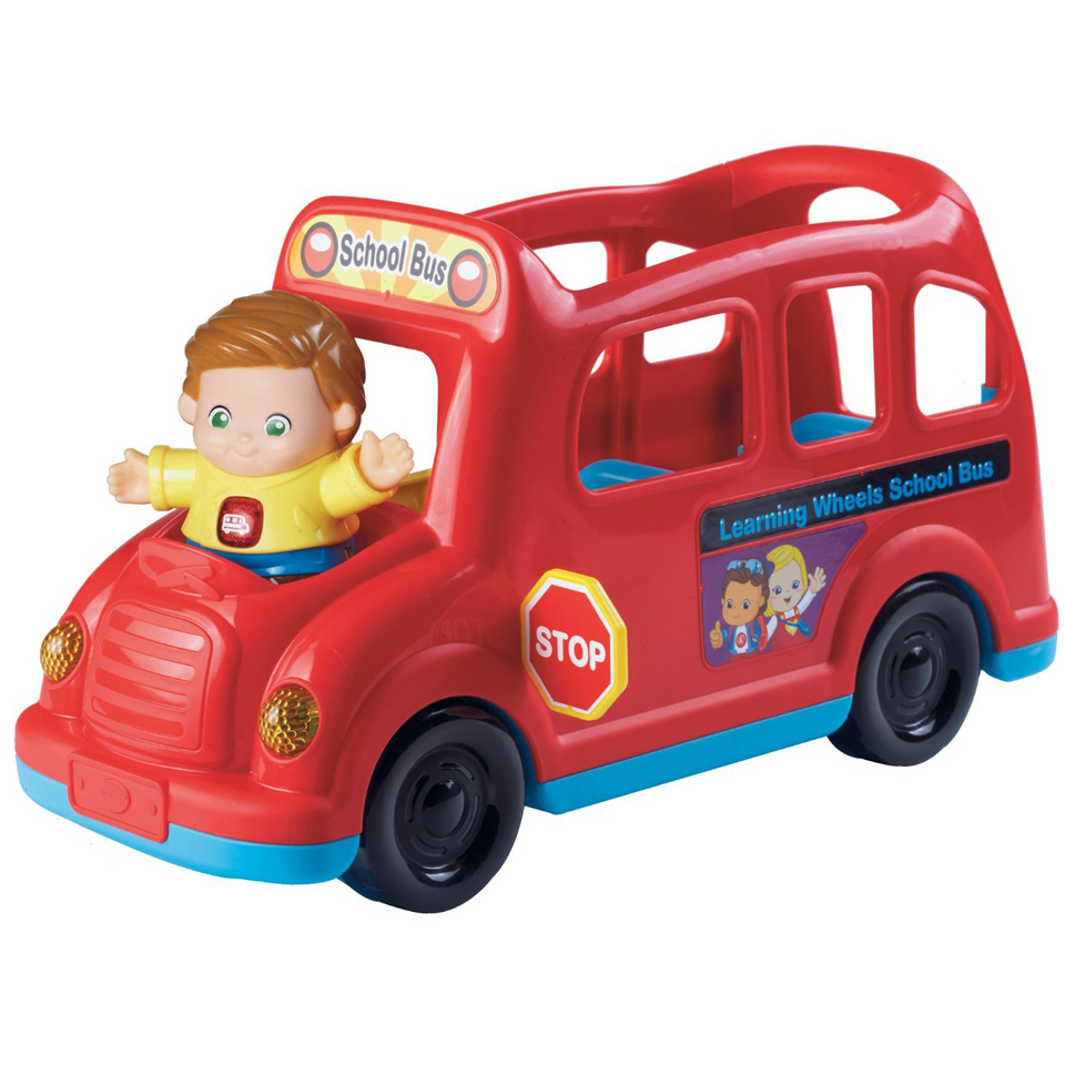 Vtech Toot-Toot Friends Learning Wheels School Bus Toys
