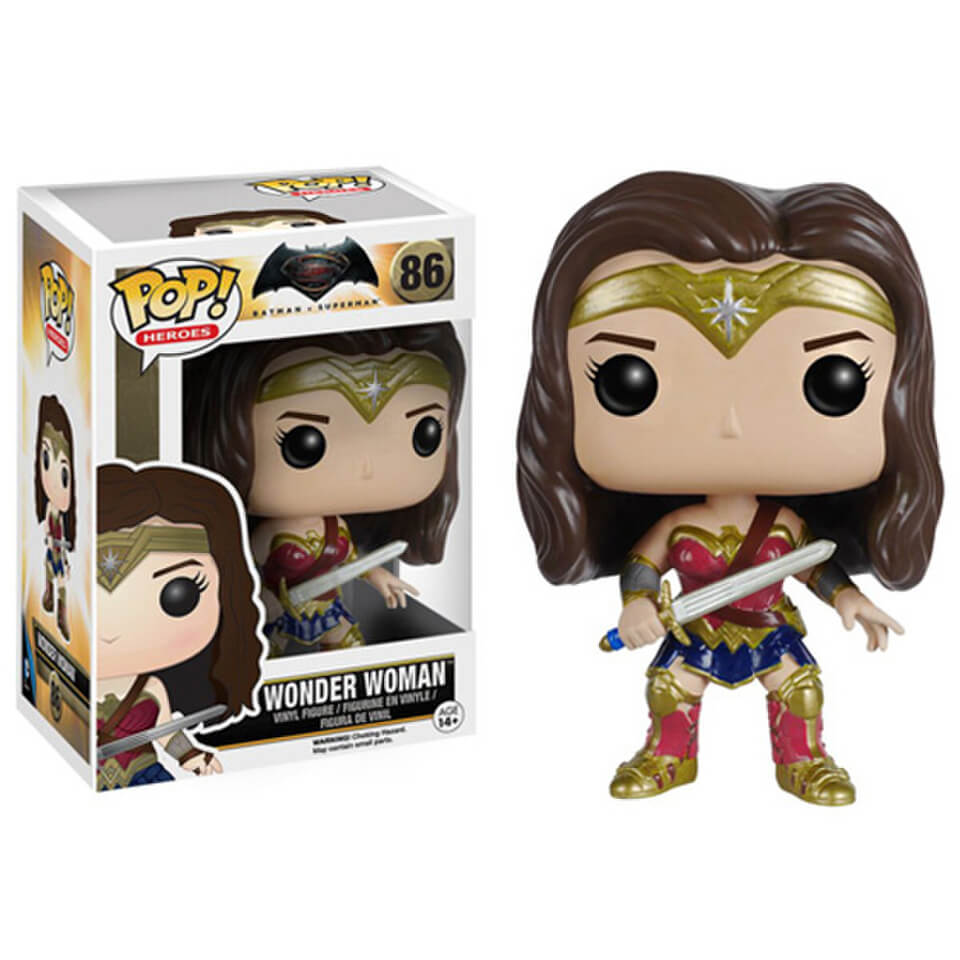 DC Comics Batman v Superman Dawn of Justice Wonder Woman Pop! Vinyl Figure