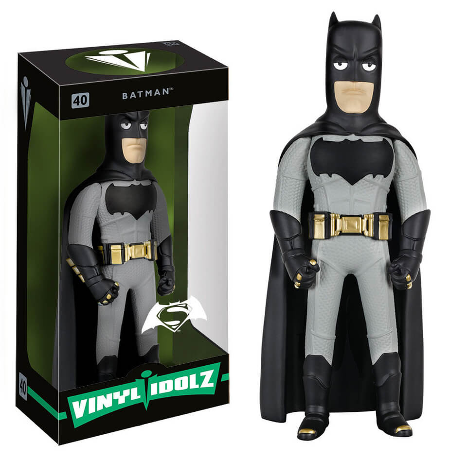 DC Comics Batman v Superman Dawn of Justice Batman Vinyl Idolz Action Figure