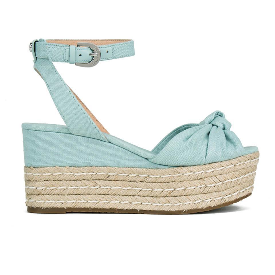 aa58c52b045 MICHAEL MICHAEL KORS Women s Maxwell Mid Wedge Sandals - Celadon - Free UK  Delivery over £50