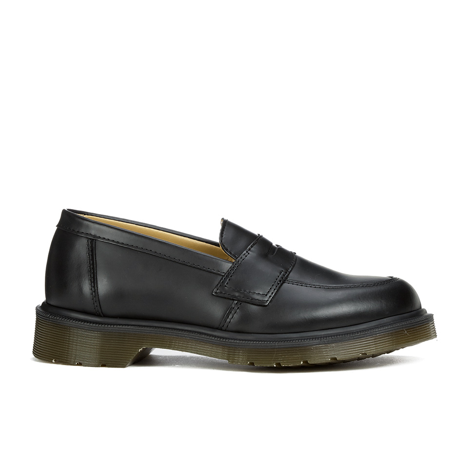 47f7a4acb12 Dr. Martens Women s Addy Loafers - Black Smooth - Free UK Delivery ...