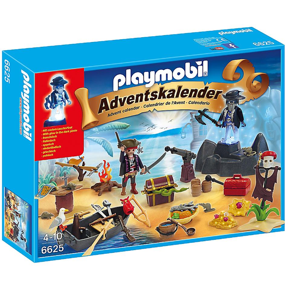 Playmobil Calendrier.Playmobil Calendrier De L Avent Ile Des Pirates 6625
