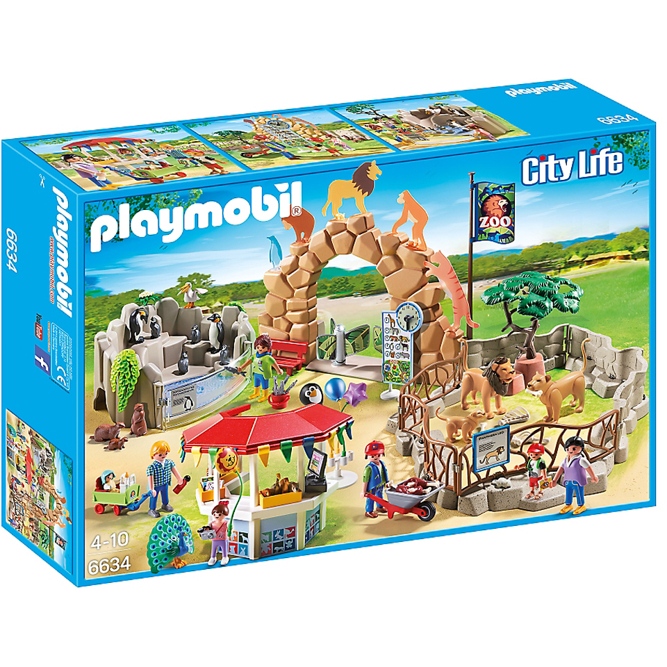 Playmobil City Life Large City Zoo (6634)