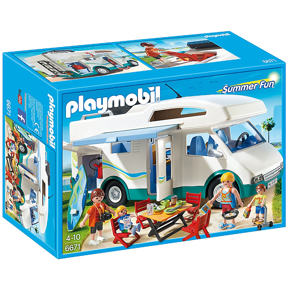 Famille avec camping-car Playmobil - (6671)