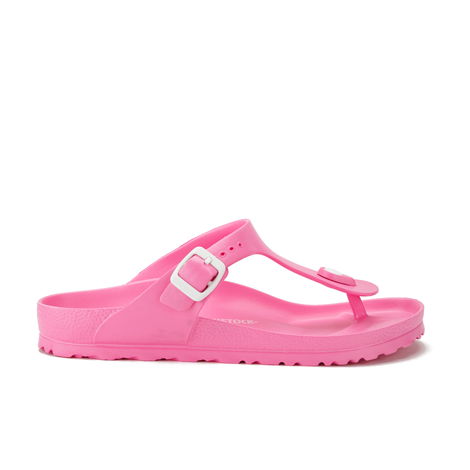 af7da3463d5a Birkenstock Women s Gizeh Slim Fit Toe-Post Sandals - Neon Pink - Free UK  Delivery over £50