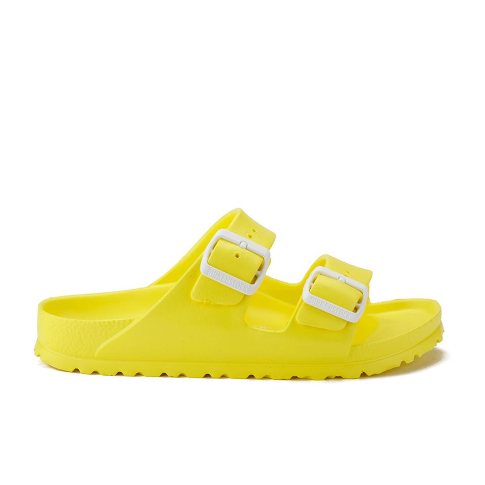 ed1ddd04fdb0a ... Birkenstock Women s Arizona Slim Fit Double Strap Sandals - Neon Yellow