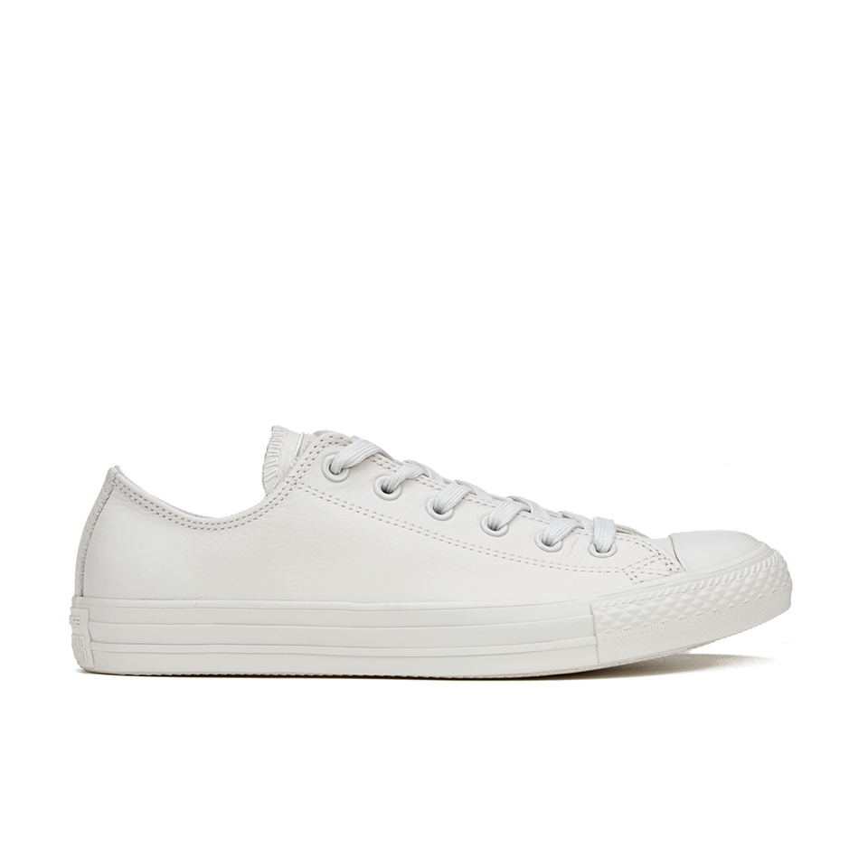 427f6dca10da ... Converse Men s Chuck Taylor All Star Mono Craft Leather Ox Trainers -  Mouse