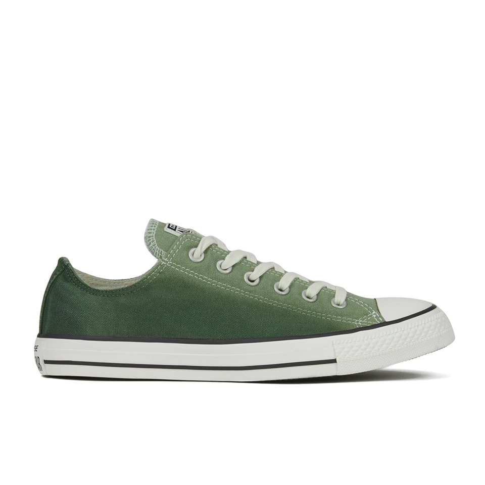 6a2b809d2466ea Converse Men s Chuck Taylor All Star Sunset Wash Ox Trainers - Street Sage  Herbal Mens Footwear