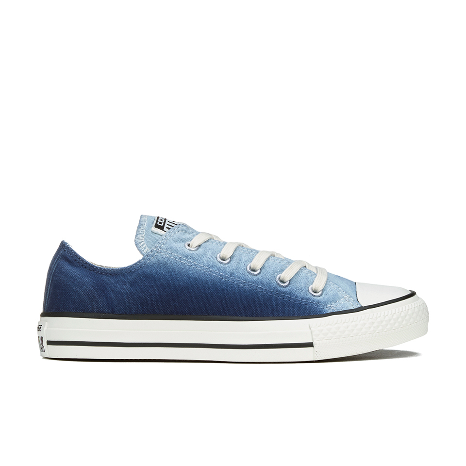 Converse Women's Chuck Taylor All Star Sunset Wash Ox Trainers Ambient BlueEgret