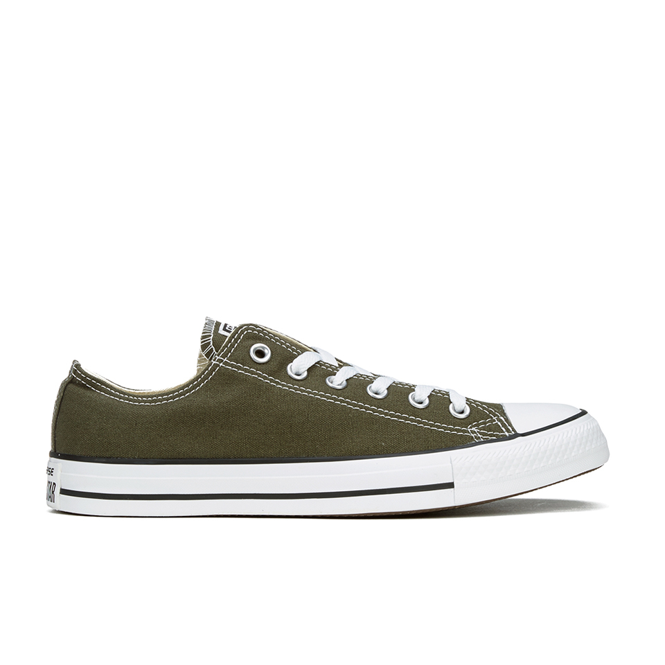 Converse Men S Chuck Taylor All Star Ox Trainers Herbal