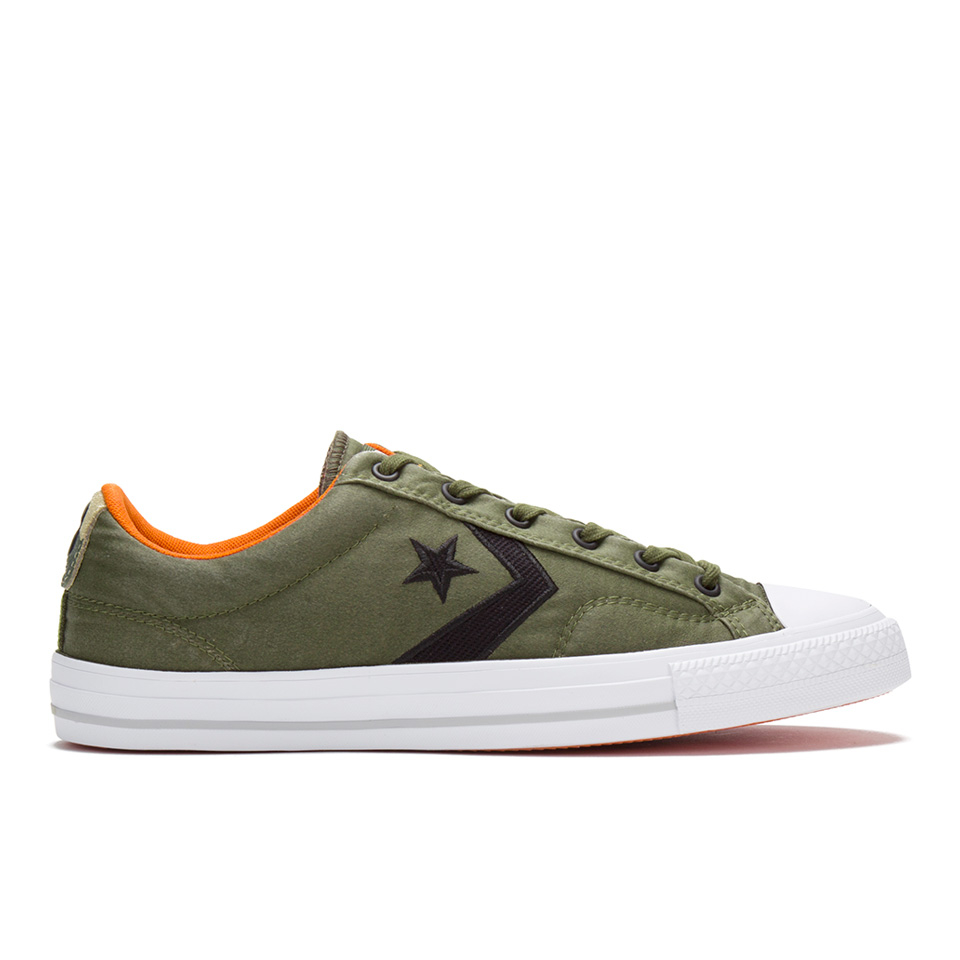 df5fd449aa34 ... Converse Men s CONS Star Player Nylon Trainers - Herbal Black Fire Pit