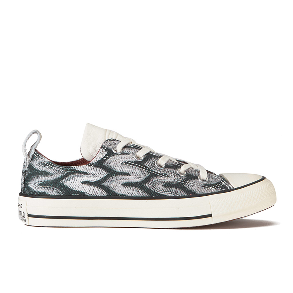 36a96a8ffcfd ... Converse x Missoni Women s Chuck Taylor All Star Ox Trainers -  Black Auburn