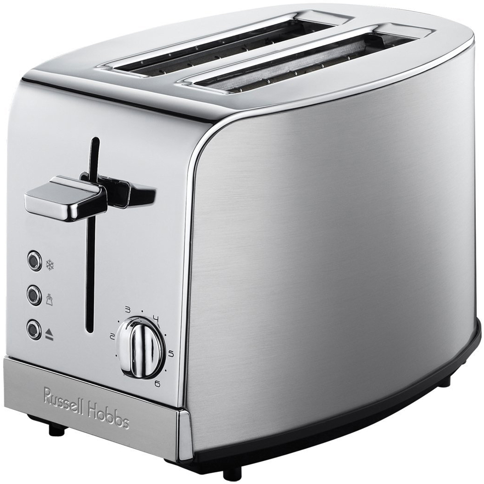 russell hobbs 18116 deluxe 2 slice toaster stainless steel iwoot. Black Bedroom Furniture Sets. Home Design Ideas