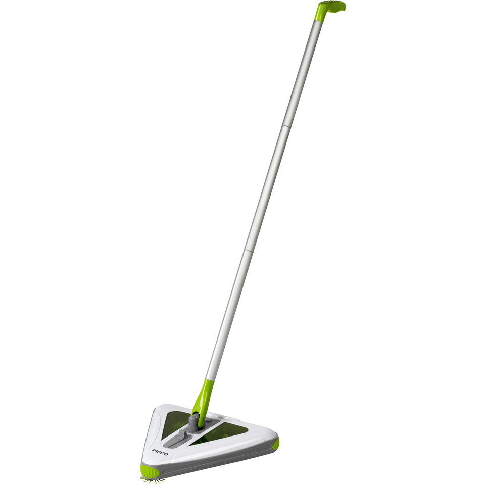 Pifco P28013 Triangular Sweeper - White - 4.8V