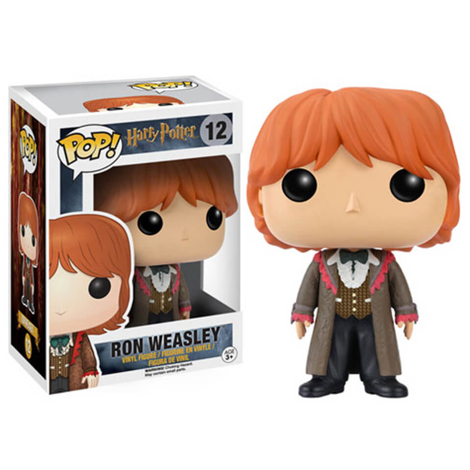 Figurine Pop! Vinyl Harry Potter Le Bal de Noël Ron