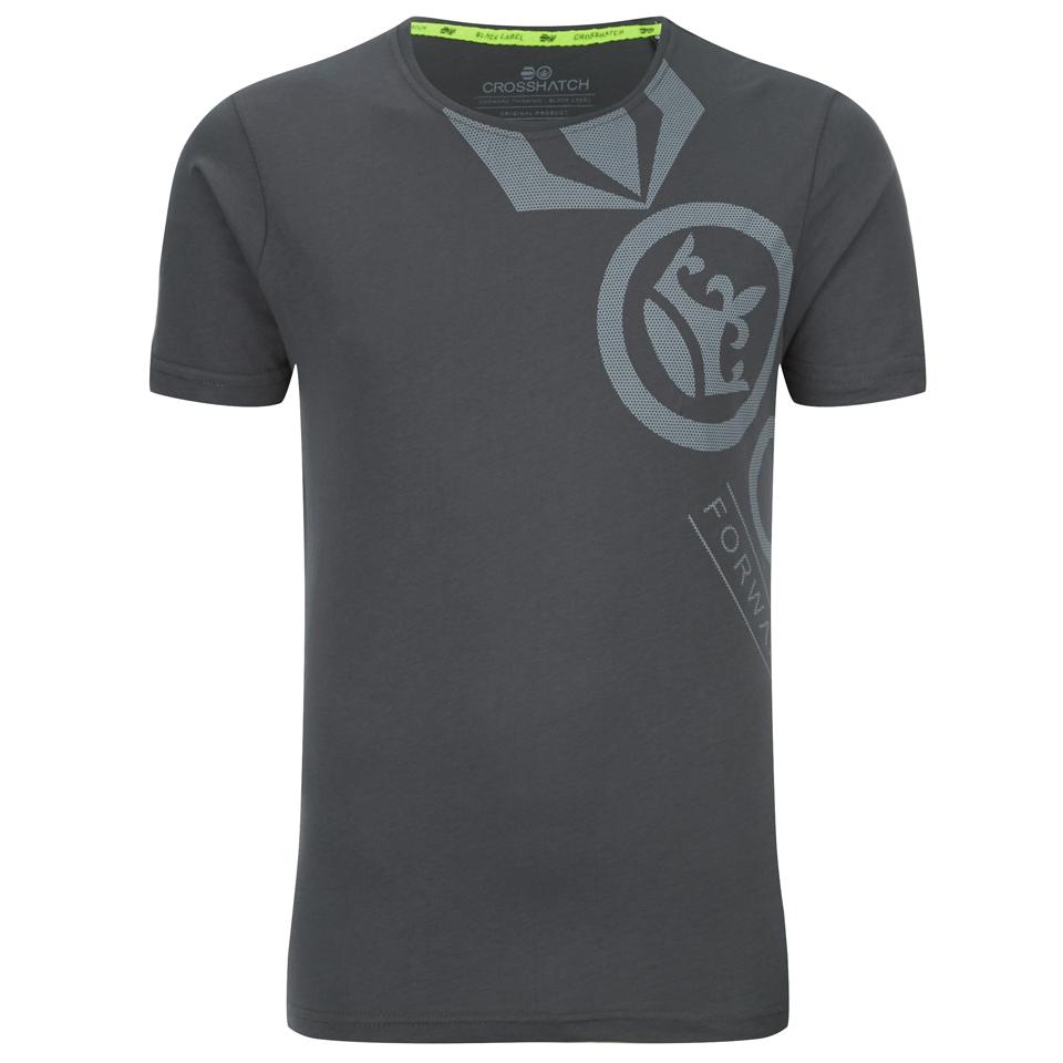 Crosshatch Men 39 S Pacific Print T Shirt Magnet Clothing