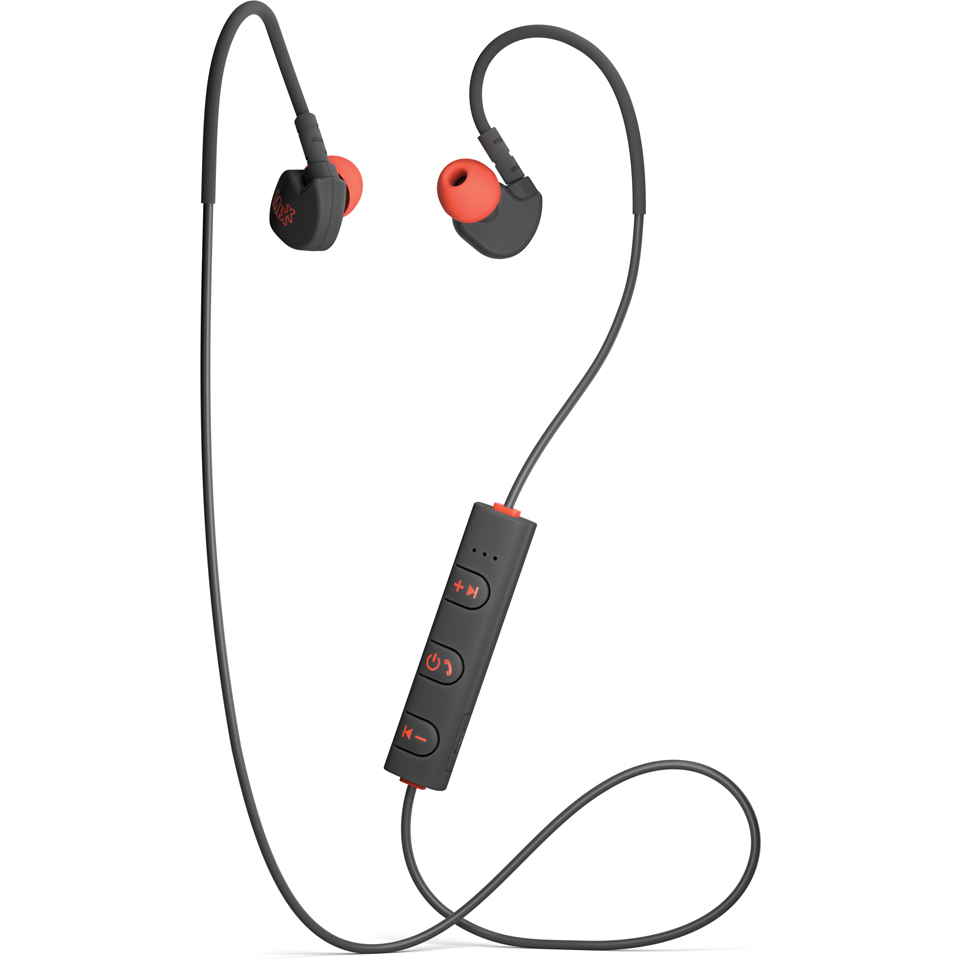 45c39188571 Mixx Memory Fit 1 Bluetooth Sports Earphones Including Mic & In-Line Remote  - Black | IWOOT