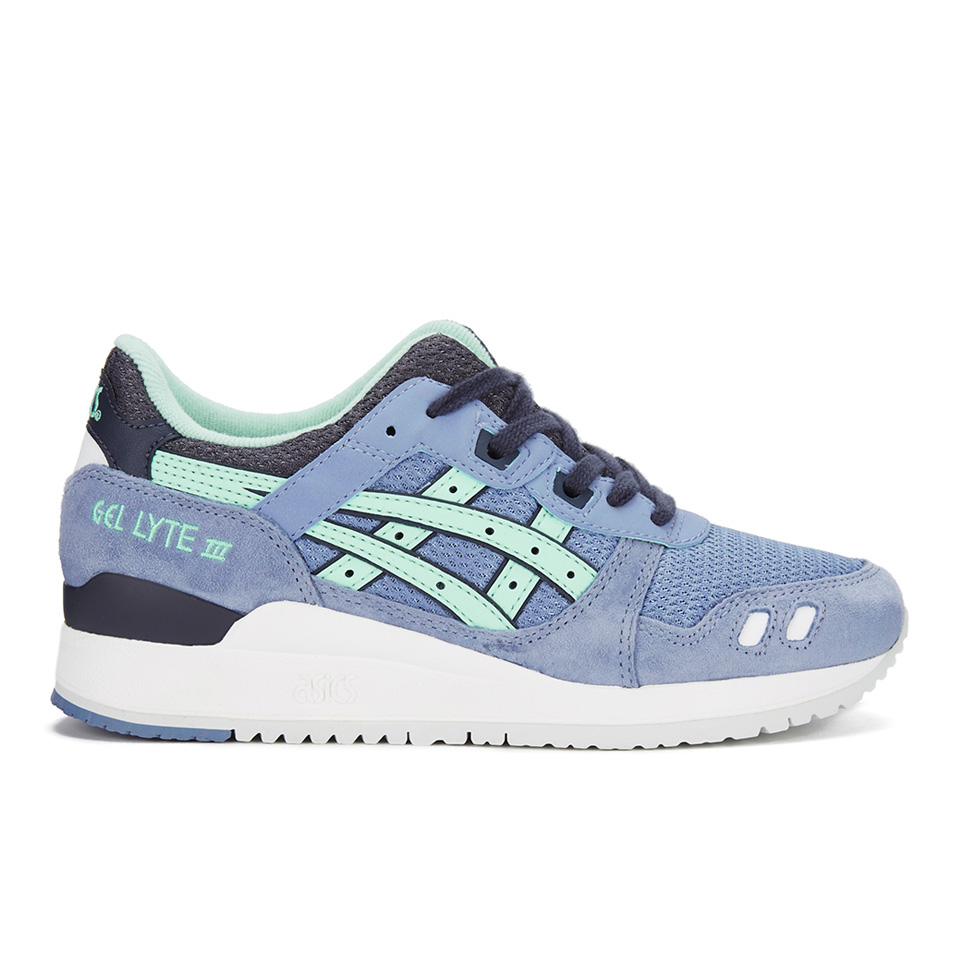 timeless design 64294 62a62 Asics Lifestyle Women's Gel-Lyte III Trainers - Stone Wash/Light Mint