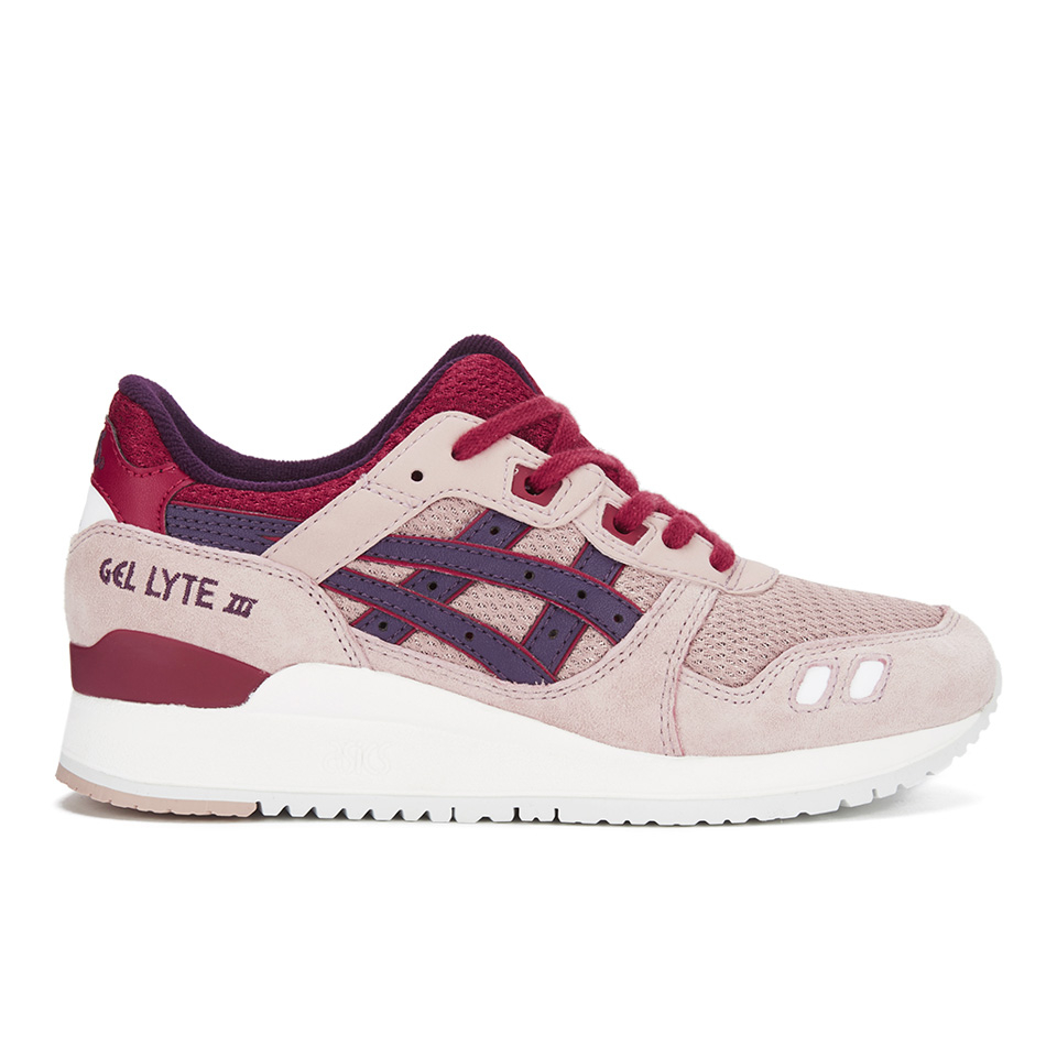87a06778e7f8 Asics Lifestyle Women s Gel-Lyte III Trainers - Adobe Rose Purple ...