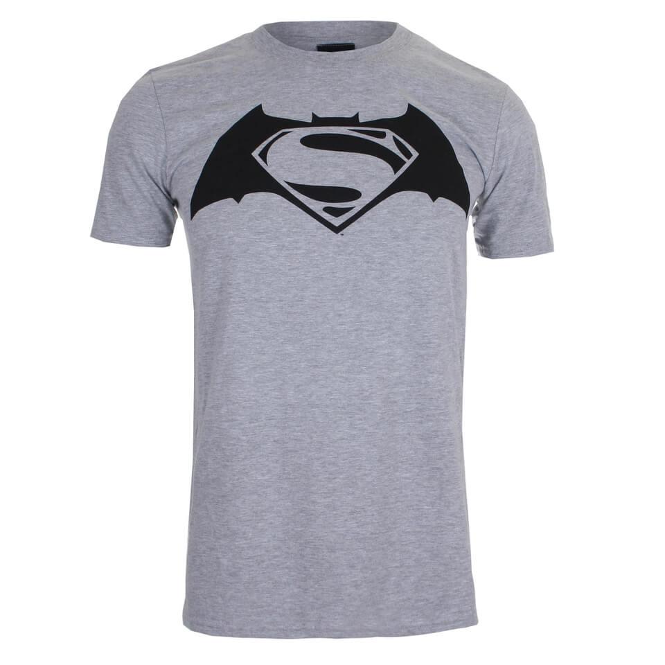 DC Comics Men s Batman v Superman Logo T-Shirt - Sport Grey. Product Details 30b33d11dd