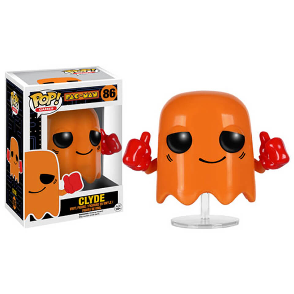 Pac-Man Clyde Pop! Vinyl Figure