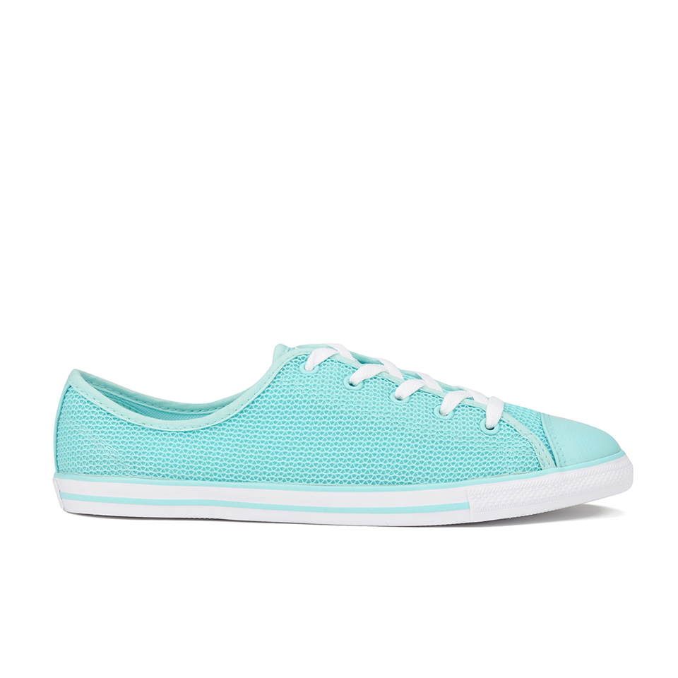 072764267243dc ... Converse Women s Chuck Taylor All Star Dainty Spring Mesh Trainers -  Motel Pool White