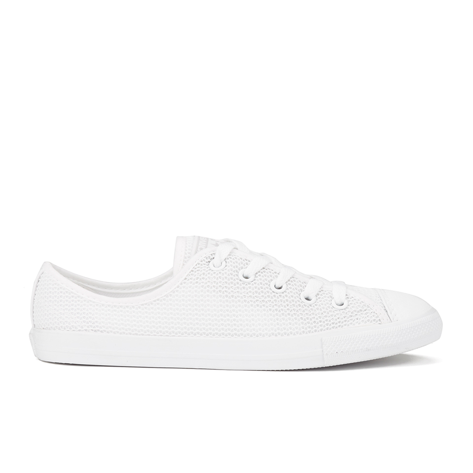 d4904efe23e439 ... Converse Women s Chuck Taylor All Star Dainty Spring Mesh Trainers -  White