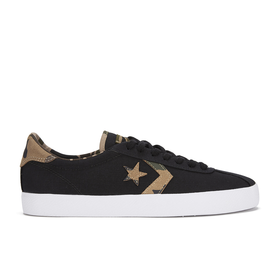 fa7c281463d8c5 Converse CONS Men s Breakpoint Rip Stop Trainers - Black White Mens  Footwear