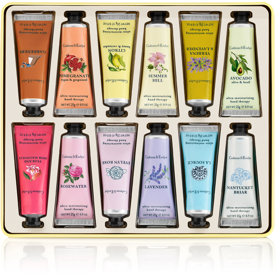 Crabtree & Evelyn Hand Therapy Paint Tin 12 x 25g (Worth £72.00)   Free Shipping   Lookfantastic