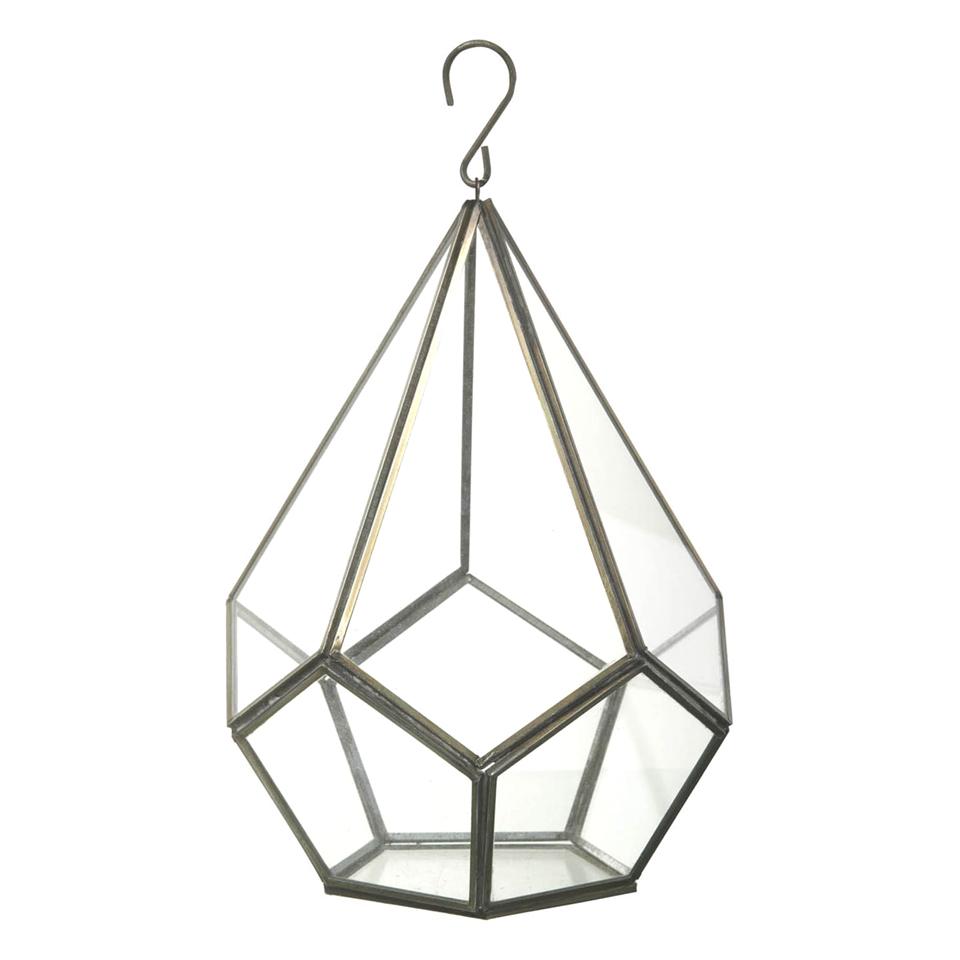Parlane Hanging Glass Terrarium Homeware Zavvi Australia